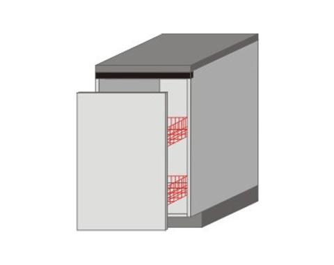 UH_D-W Base Cabinet Basket