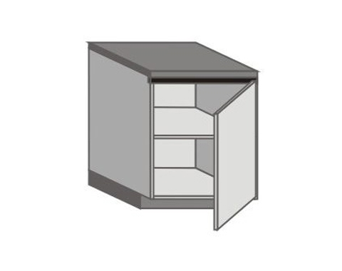 UH_D-R Base Cabinets with Left Door