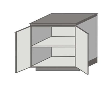 US_D-O Base Cabinets with Double Doors