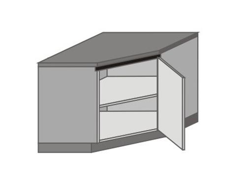 UH_DK-R Base Corner Cabinet with Left Door