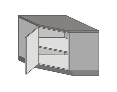 US_DK-L Base Corner Cabinet with Left Door