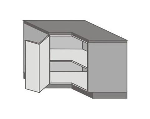 US_DR-L Base Corner Cabinet with Left Door