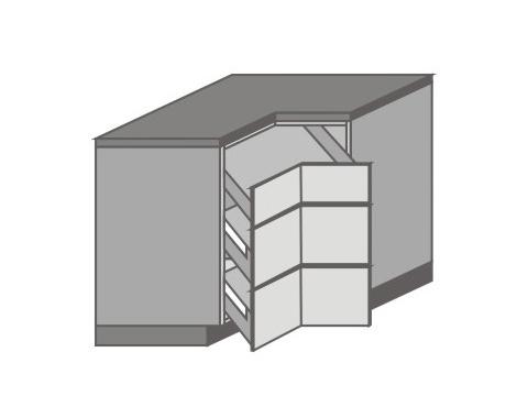 US_DR-ZMM Base Cabinets with Basket