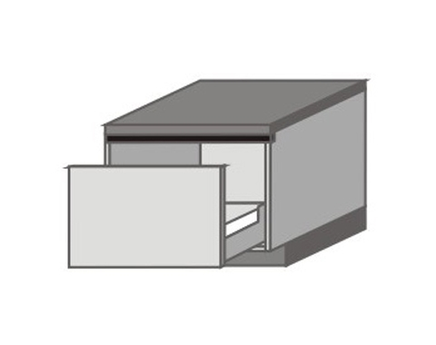 UH_DN-P Base Cabinets with Appliance Drawers