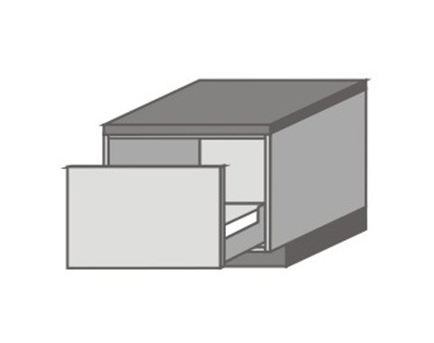US_DN-P Base Cabinets with Appliance Drawers