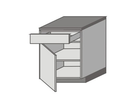 US_D-ZL Base Cabinets with Left Door
