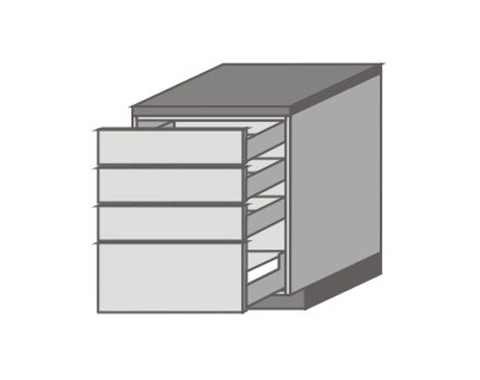 US_D-ZZZM Base Cabinets with 2 Drawers