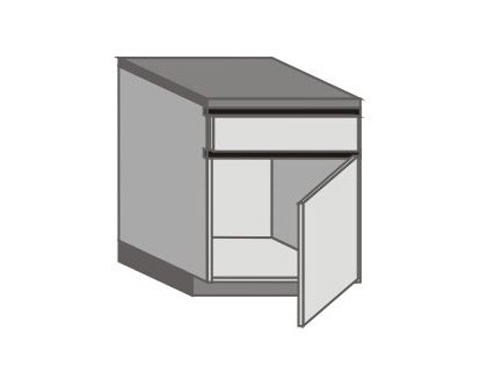 UH_D-ZGR Base Cabinets with Right Door
