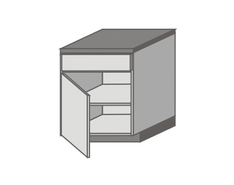 US_D-ZGL Base Cabinets with Left Door
