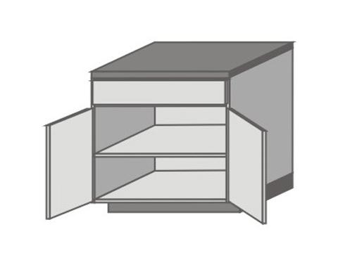 US_D-ZGO Base Cabinets with Double Door
