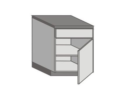 US_D-ZGR Base Cabinets with Right Door