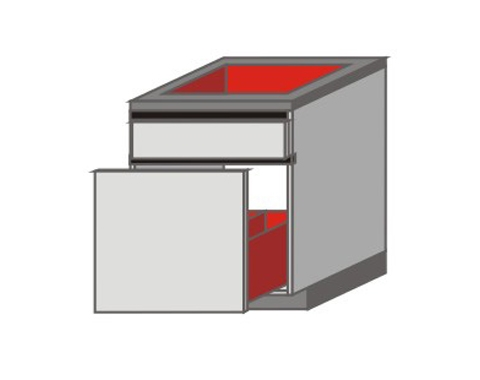 UH_Z-ZGW Base Cabinets with Drawer.