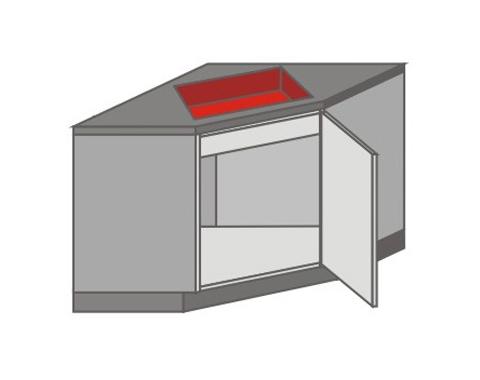 US_ZK-R Base Cabinet Corner