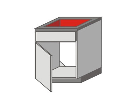 US_Z-ZGL Base Cabinets with Left Door