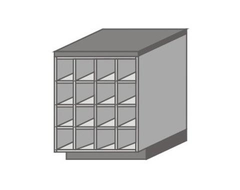 US_DH_N Base Cabinet No Doors