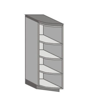 US_SDEL-N Short Pantry/Appliance Cabinets with Double Door