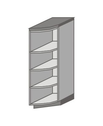 US_SDER-N Short Pantry/Appliance Cabinets with Double Door