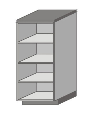 US_SD-N Short Pantry/Appliance Cabinets with Right Door
