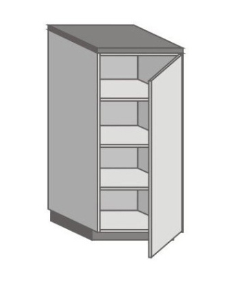 US_SD-R Short Pantry/Appliance Cabinets with Right Door