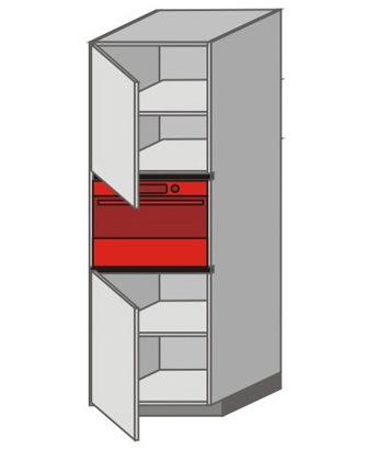 UH_WTTC-LNL Tall Pantry/Appliance Cabinets