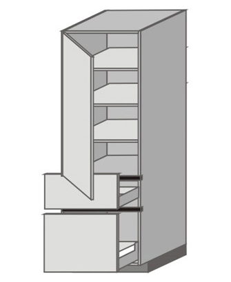 UH_WT-LMP Tall Cabinet with Left Door