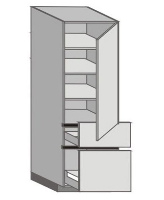 UH_WT-RMP Tall Cabinet with Right Door