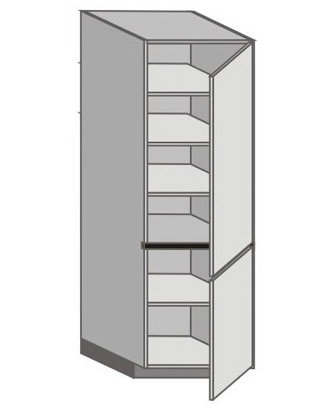 UH_WT-RR Tall Cabinet with Right Door