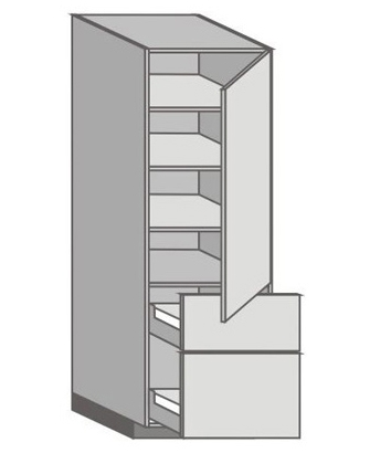 US_WT-RMU Tall Cabinet with Right Door