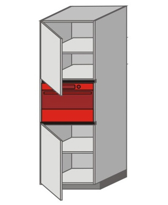 UH_WUTC-LNL Tall Pantry/Appliance Cabinets