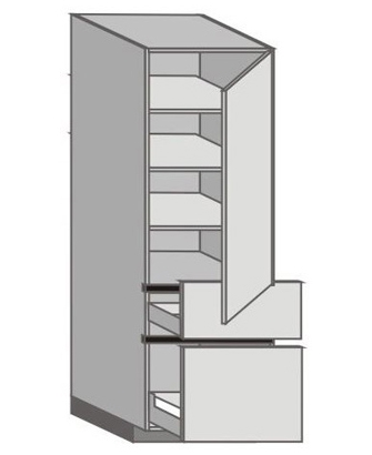 UH_WU-RMP Tall Cabinet with Right Door