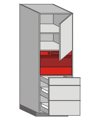 US_WUTC-RNZMM Tall Pantry/Appliance Cabinets