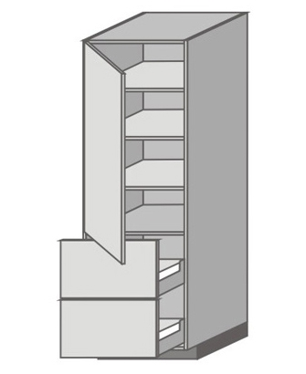 US_WU-LPP Tall Cabinet with Left Door