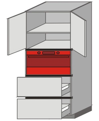 UH_WVT-ONPP Tall Pantry/Appliance Cabinets