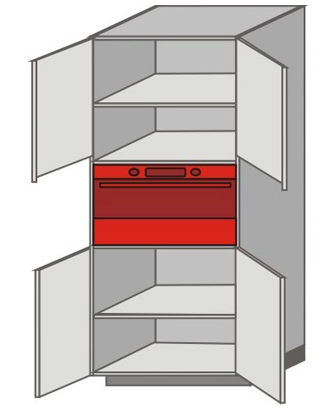 US_WVT-ONO Tall Pantry/Appliance Cabinets