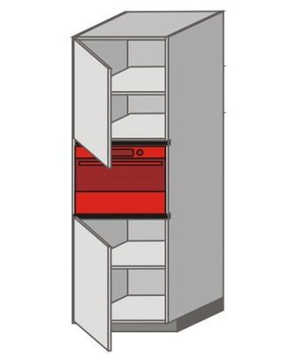 UH_WXTC-LNL Tall Pantry/Appliance Cabinets