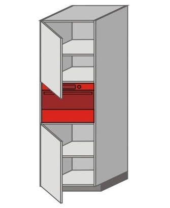 US_WXTC-LNL Tall Pantry/Appliance Cabinets