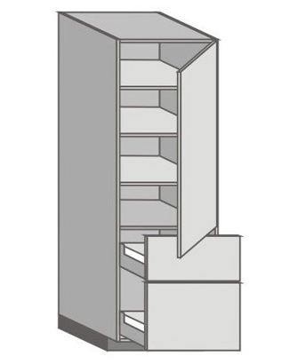 US_WX-RMU Tall Cabinet with Right Door