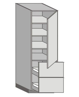 US_WX-RPP Tall Cabinet with Right Door