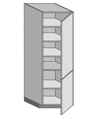 US_WX-RR Tall Cabinet with Right Door