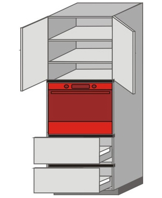 UH_WYT-ONPP Tall Pantry/Appliance Cabinets