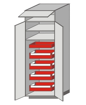 US_WYBS-WFO Tall Cabinet with Double Doors