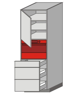 US_WYTC-LNZMM Tall Pantry/Appliance Cabinets