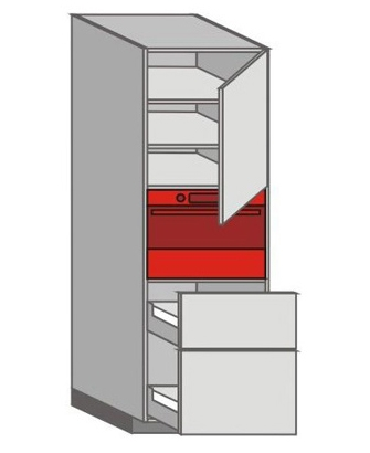 US_WYTC-RNMU Tall Pantry/Appliance Cabinets