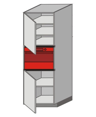 UH_WZTC-LNL Tall Pantry/Appliance Cabinets
