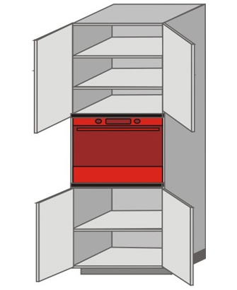 UH_WZT-ONO Tall Pantry/Appliance Cabinets
