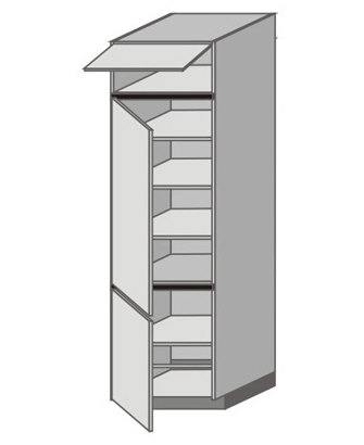 UH_WZ-WFLL Tall Cabinet with Left Door