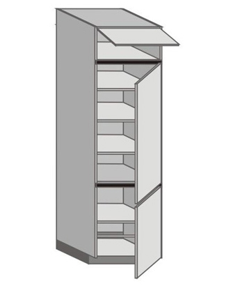 UH_WZ-WFRR Tall Cabinet with Right Door