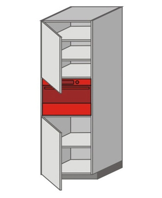 US_WZTC-LNL Tall Pantry/Appliance Cabinets