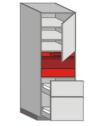 US_WZTC-RNPP Tall Pantry/Appliance Cabinets