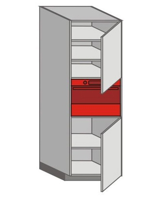 US_WZTC-RNR Tall Pantry/Appliance Cabinets
